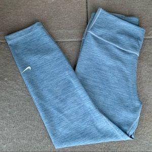 Nike Dri-Fit light Blue Gray Capri cropped pants